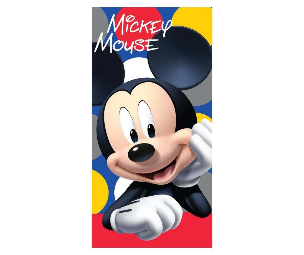 Prosop de plaja Mickey Mouse Dots 70x140 cm