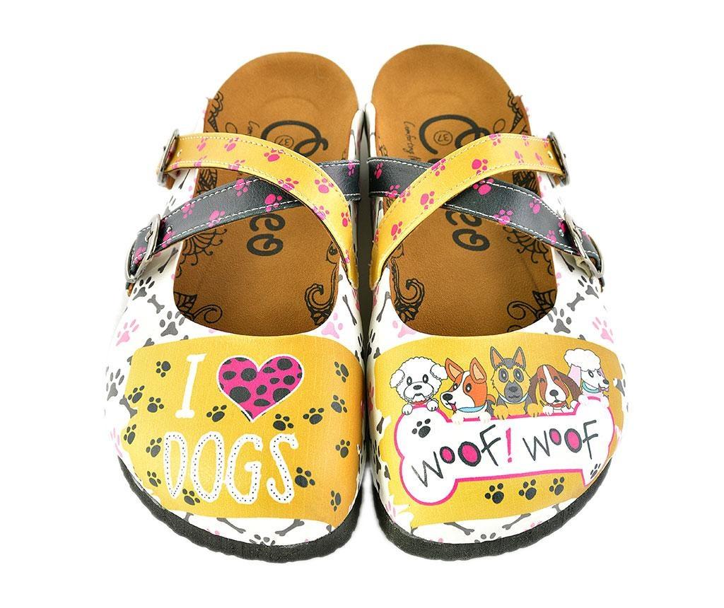 Dámské pantofle I Love Dogs 35