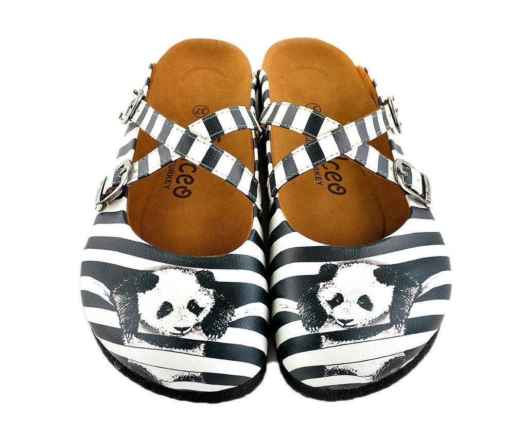 Klapki damskie Panda 35