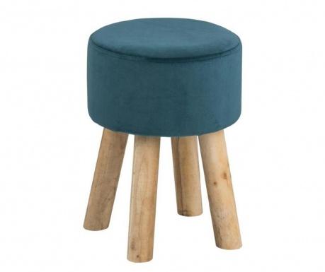 Σκαμνί Maren Round Dark Turquoise