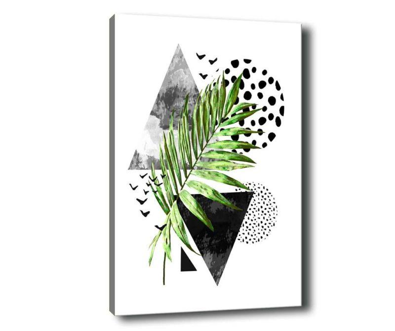 Leaf Collage Kép 100x140 cm