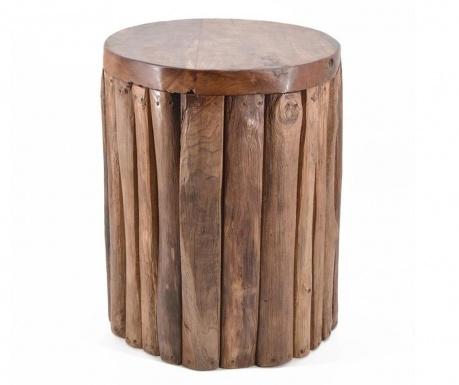 Σκαμπό Vertical Logs
