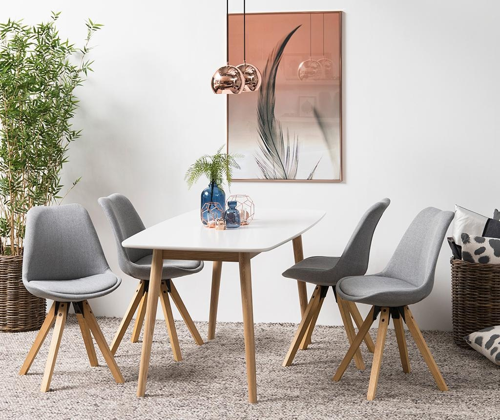 Sada 2 židlí Dima Corsica Light Grey