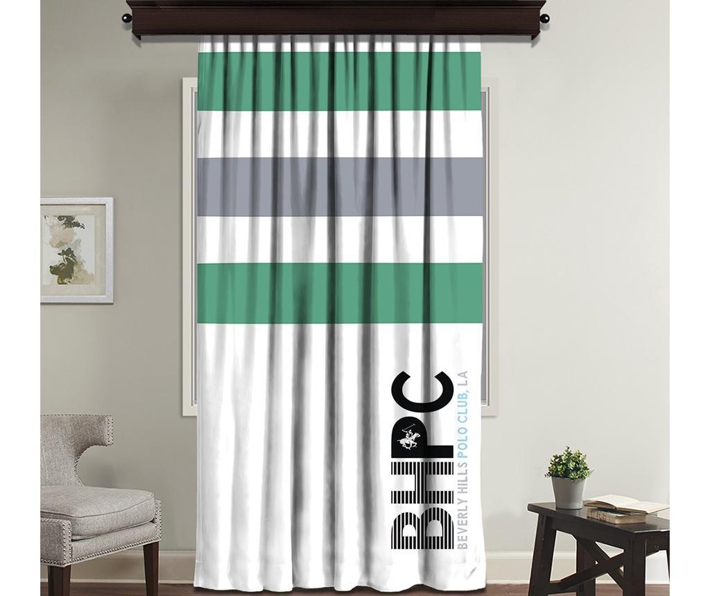 Beverly White Green Sötétítő 140x260 cm
