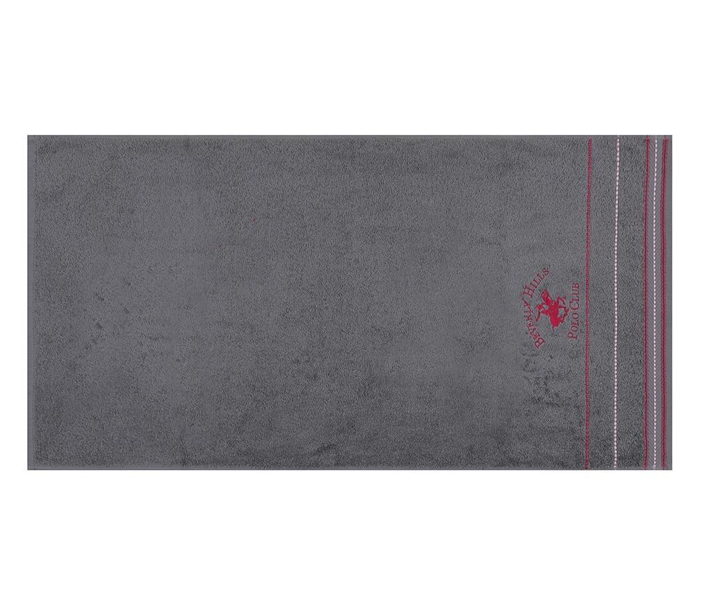 Sada 2 ručníků Fitilli Grey 50x90 cm