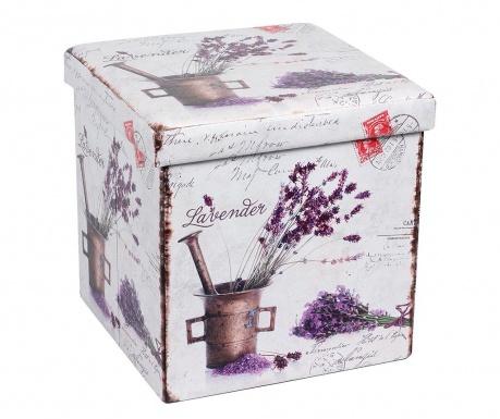 Skladacia taburetka Romantic Lavender