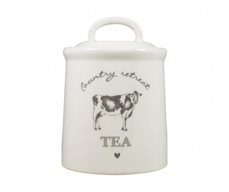 Pojemnik z pokrywką na herbatę Country Retreat