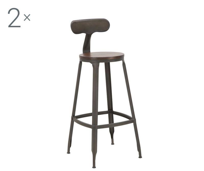 Set 2 barske stolice Harlem Hector