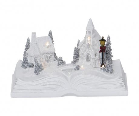 Φωτεινό διακοσμητικό Snow Bookville