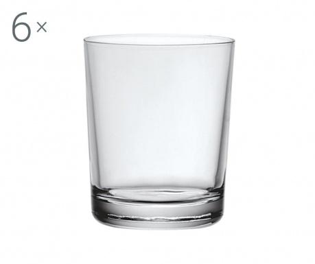 Set 6 kozarcev Caravele 200 ml
