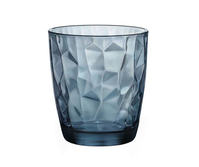 Pahar Diamond Blue 410 ml