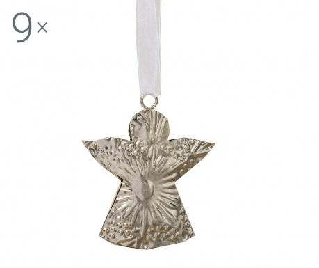 Set 9 decoratiuni suspendabile Weihnachten Angel
