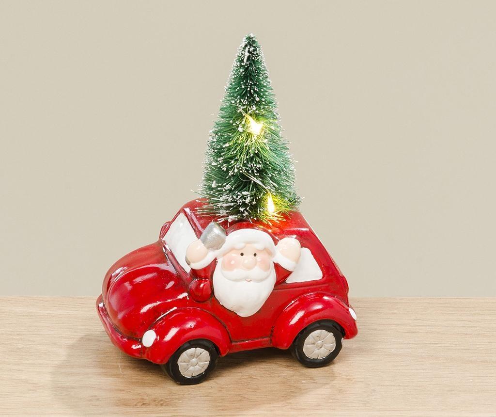 Decoratiune luminoasa Santas Brother Car