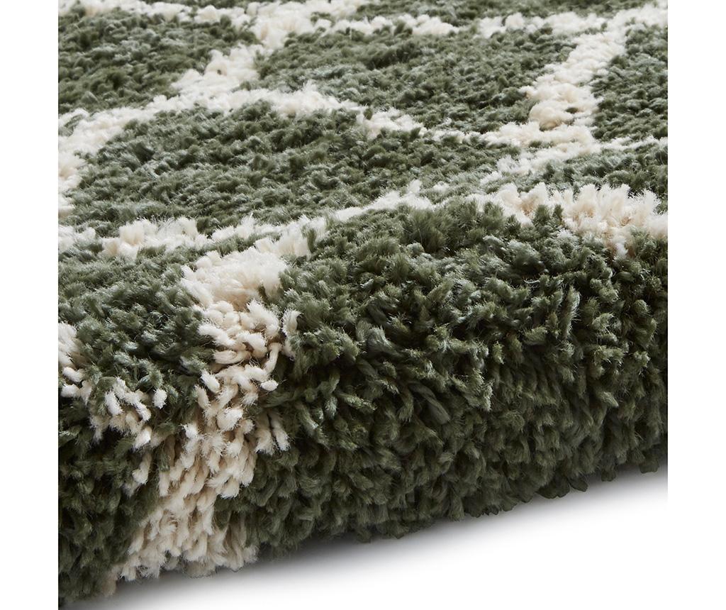 Covor Boho Branch Green 120x170 cm