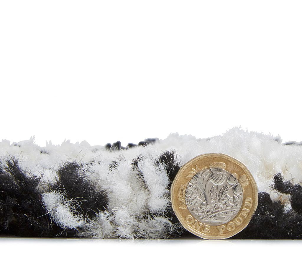 Covor Boho Branch White & Black 120x170 cm