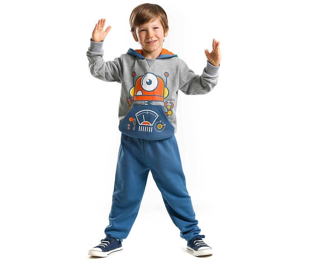 Set bluza si pantaloni pentru copii Robotic 4 ani