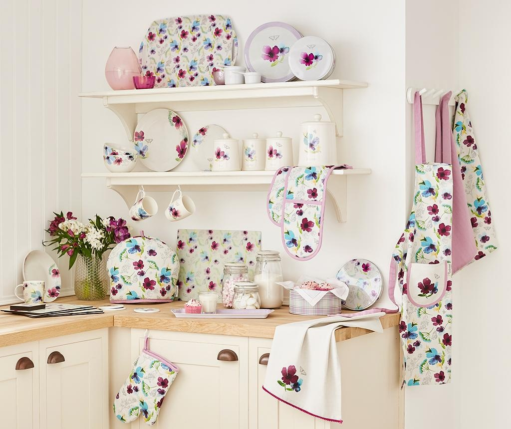 Manusa dubla de bucatarie Chatsworth Floral