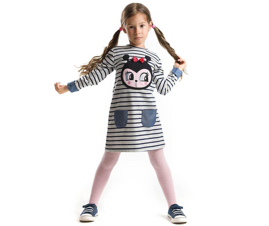Dječja haljina dugih rukava Ladybug 3 god.