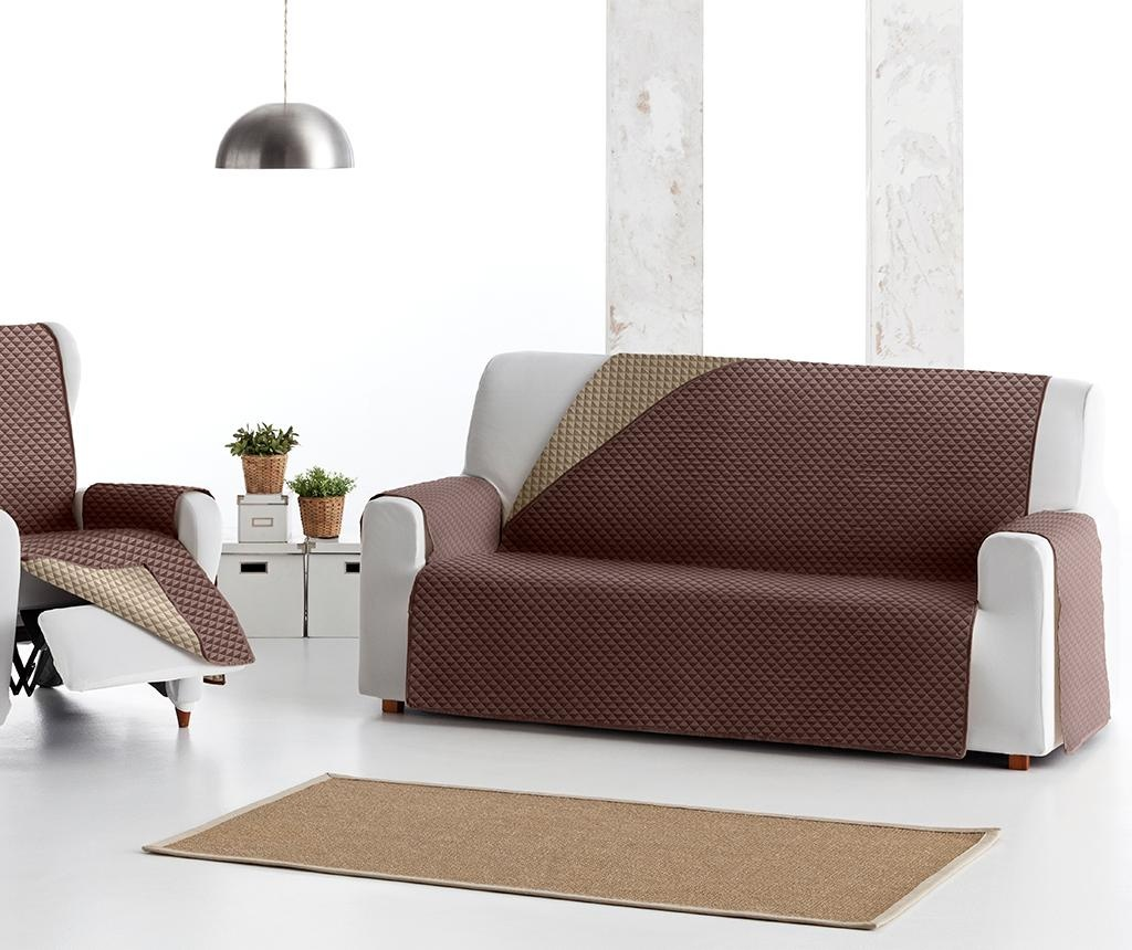 Oslo Reverse Brown & Tan Steppelt huzat kanapéra 110 cm