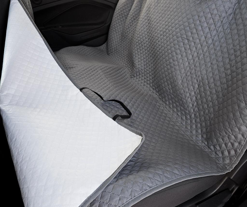 Prekrivalo za avtomobilski sedež za hišne ljubljenčke Oslo Grey 130x150 cm