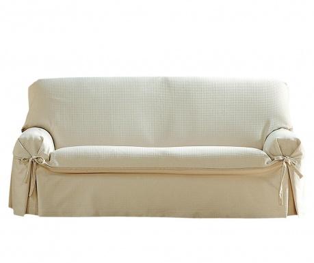 Ρυθμιζόμενο κάλυμμα καναπέ Paola Ecru Bows