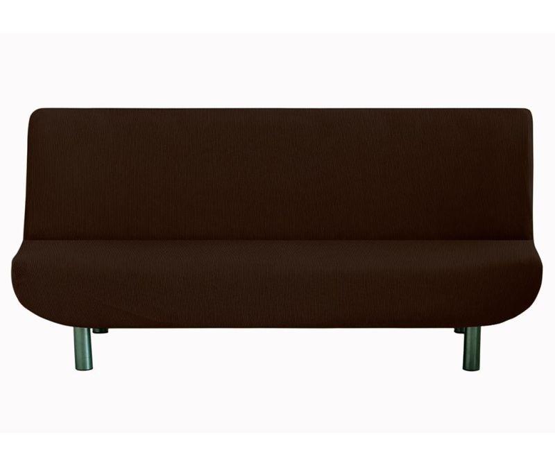 Husa elastica pentru sofa Ulises Clik Clak Brown