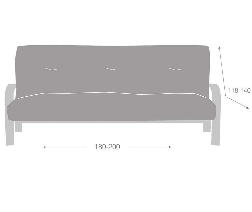 Еластичен калъф за диван Ulises Clik Clak Grey