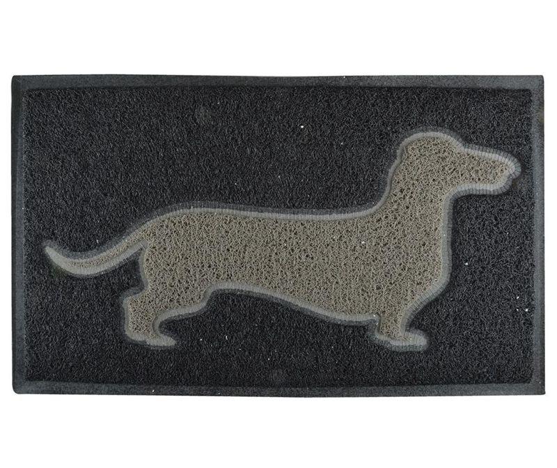 Covoras de intrare Black Hound 45x75 cm