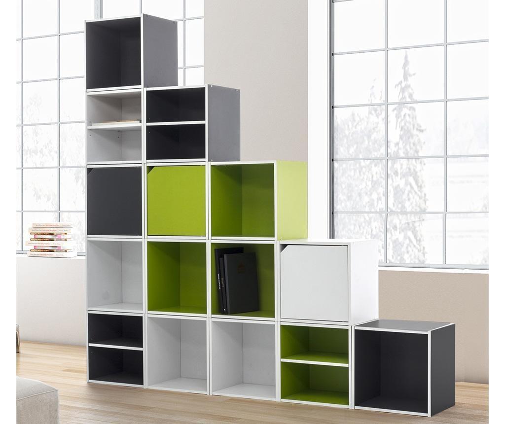 Corp modular Cube Dual Green