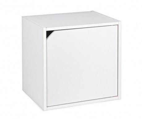 Cube Door White Moduláris polc