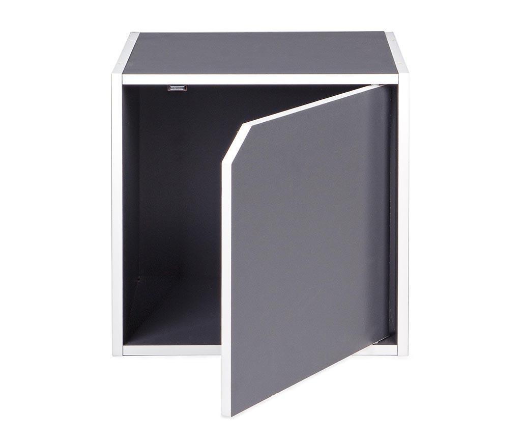 Modulární díl Cube Door Grey