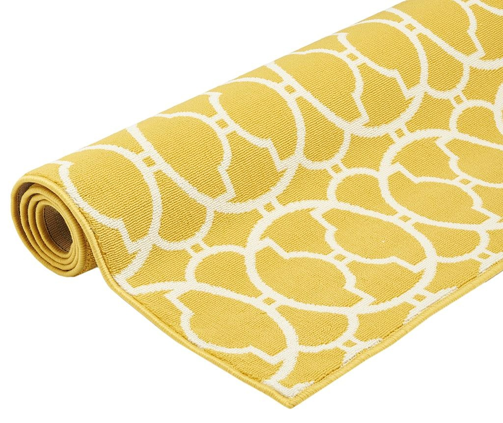 Килим Interlaced Yellow 160x230 см