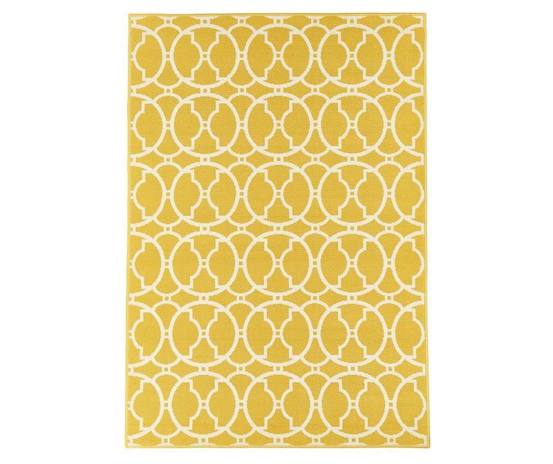 Килим Interlaced Yellow 160x230 см