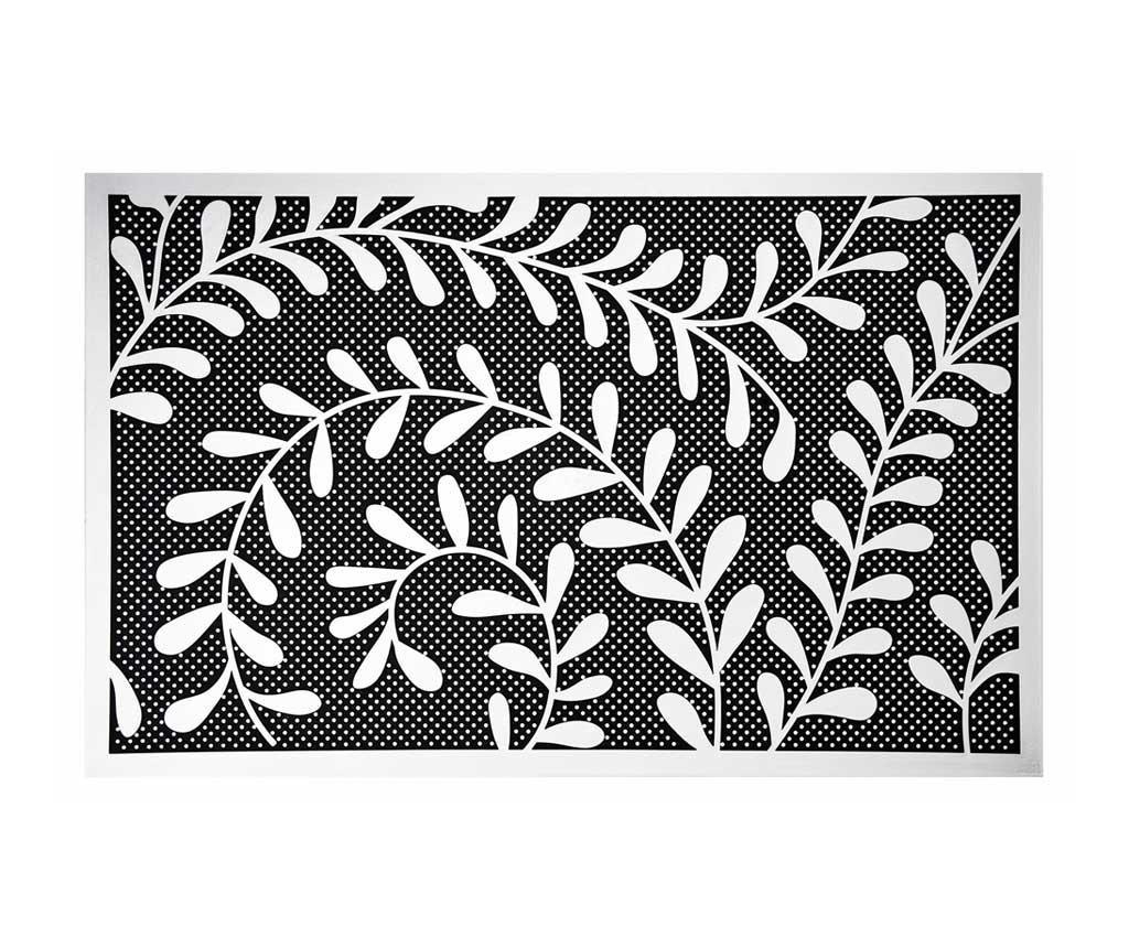 Baroque Fern Lábtörlő szőnyeg 45x70 cm