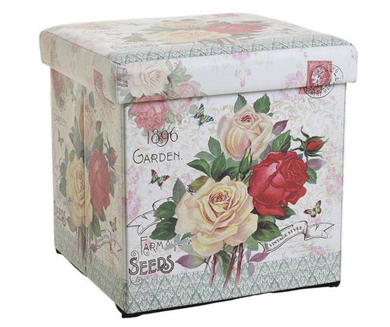 Taburet pliabil Garden Roses