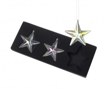 Zestaw 3 dekoracji wiszących Stars