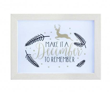 Dekoracja świetlna December To Remember