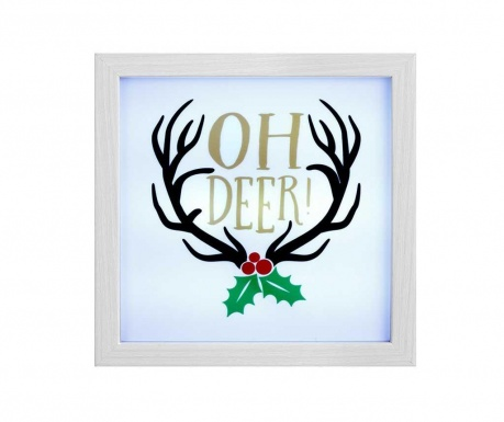 Svetlobna dekoracija Oh Deer