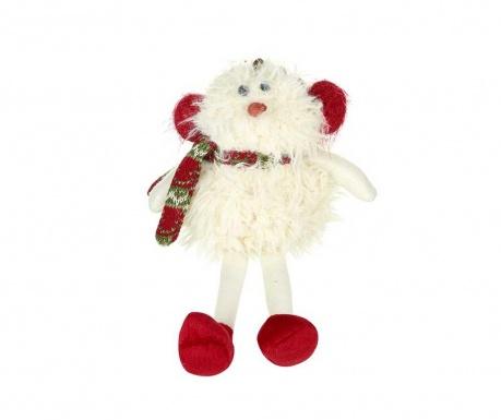 Decoratiune Santa With Scarf