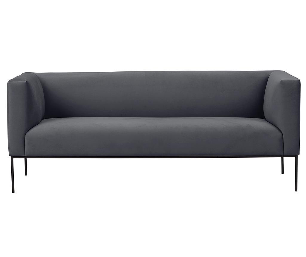 Canapea 3 locuri Neptune Dark Grey