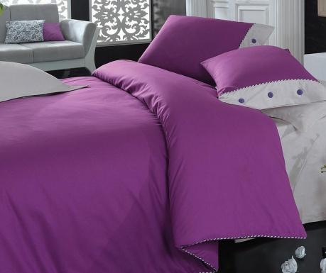 Κλινοσκέπασμα King Ranforce Plain Line  Purple