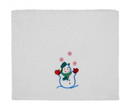 Πετσέτα μπάνιου Joyful Snowman 30x50 cm