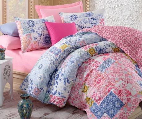 Σετ κρεβατοκάμαρας King Ranforce Mosaic  Pink