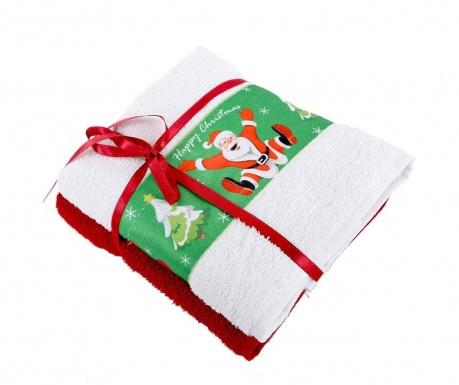 Σετ 2 πετσέτες μπάνιου Jump White 50x90 cm