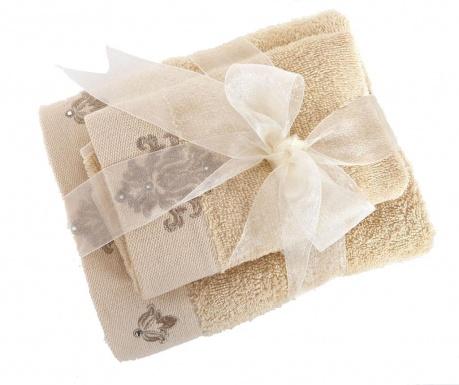 Σετ 2 πετσέτες μπάνιου Athena