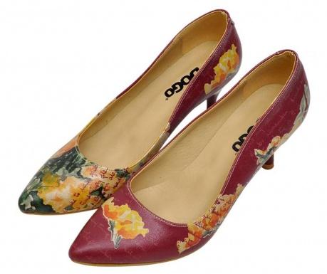 Γυναικεία παπούτσια Yellow Flower