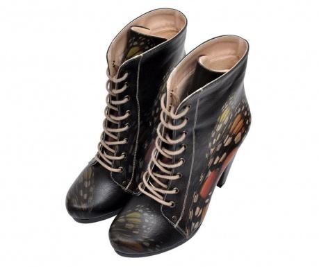 Γυναικείες μπότες Monarch Butterfly Black