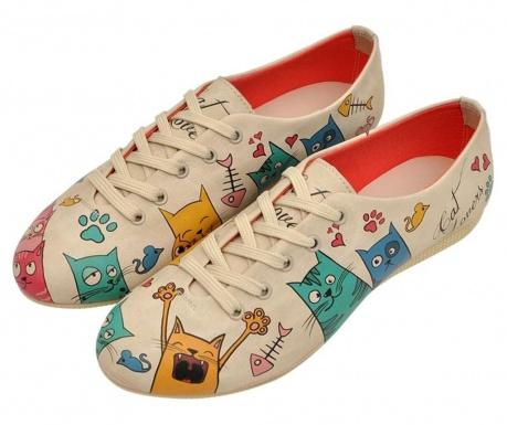 Γυναικεία πάνινα παπούτσια Cat Lovers