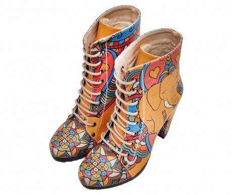 Γυναικείες μπότες India Laces