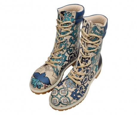 Γυναικείες μπότες Blue Tiles